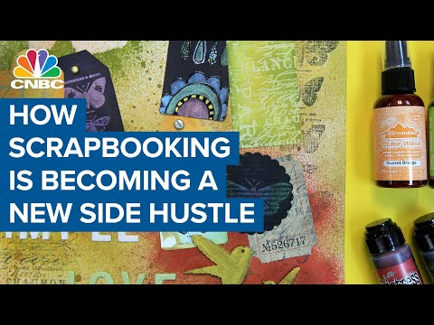 How scrapbooking is becoming a new side hustle during the coronavirus