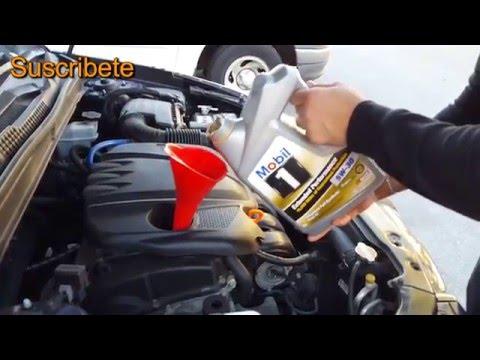 Como Cambiar aceite Hyundai sonata - YouTube