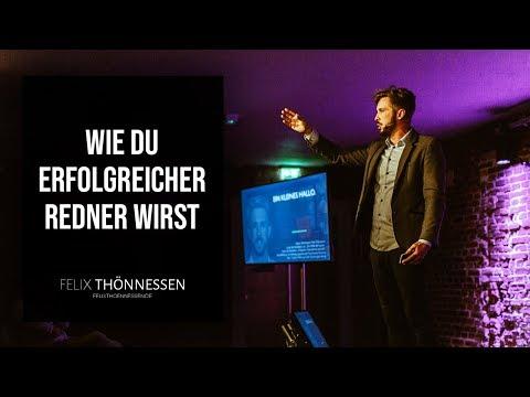 🎤 Redner werden (Keynote Speaker)? Meine Tipps aus über 10 Jahren Erfahrung   felixthoennessen.de