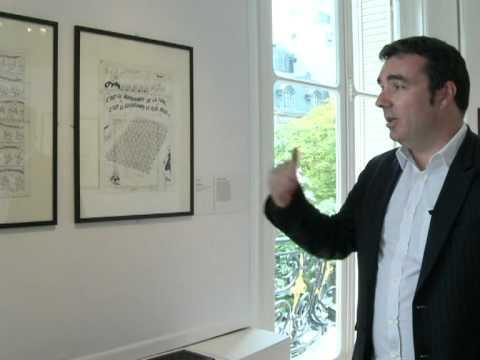 Smurfs creator 'Peyo' takes centre stage in Paris exhibition