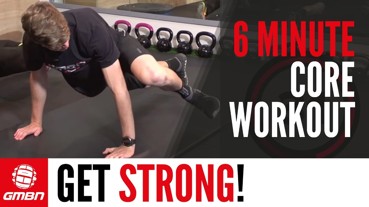Core Strength Workout 6 Minute Training For Mountain Biking Circuit Kettlebell Climb Muscle Fitness