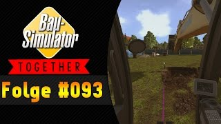 Bodo mit dem Bagger | BAU SIMULATOR 2015 Together #093 ★ Let