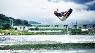 Boat and Cable Sessions w/ Wakeboarder Sang Hyun Yun