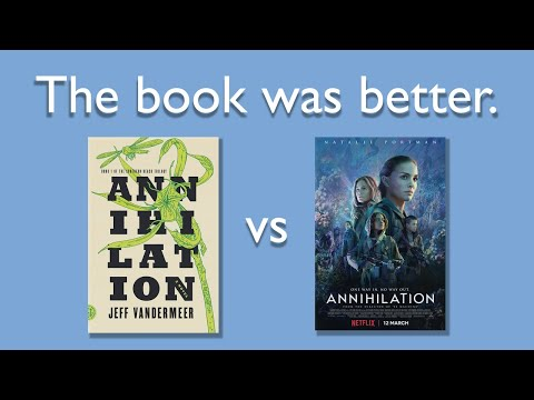 Annihilation is a Bad Adaptation | A Little Rant