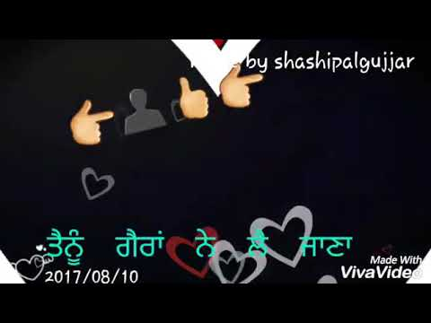 Door ninja latest punjabi song emoji animated