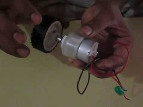 simple electric generator. Simple Electric Generator School Project I