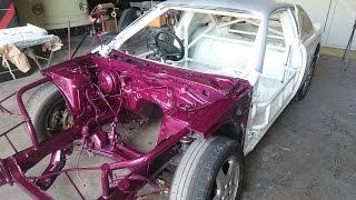 Nissan S14 Drift Car Paint Job