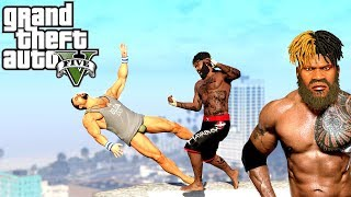 Grand Theft Auto V: Hardest Knockouts (K.Os) #8 (MMA Skills, Brutal Kills, Vines, Michael Jackson)