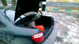 Автоматическое закрытие/открытие багажника