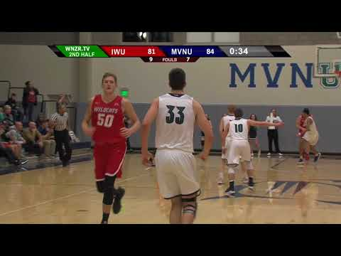 MVNU MBB vs #6 IWU - 2/13/18