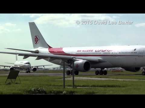 Air Algerie A330-200 Special! at Heathrow Airport