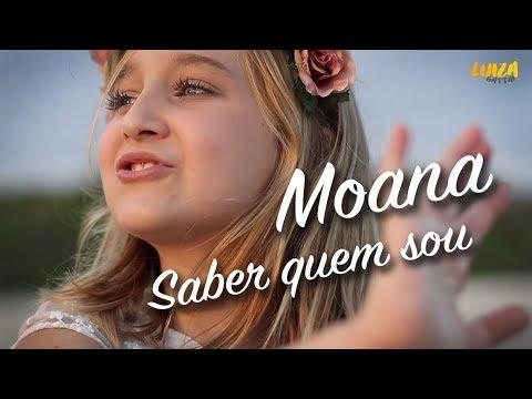 Saber Quem Sou - Trilha sonora de Moana   Cover Luiza Gattai