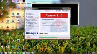Tập 1: Hướng dẫn cài đặt Abaqus 6.10-1 dành cho Win 7, 32bit.