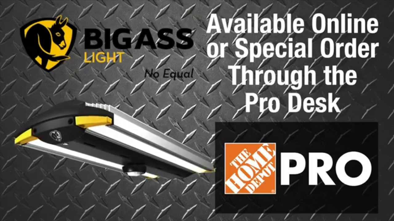 Big Ass ® LED Shop Light - The Home Depot