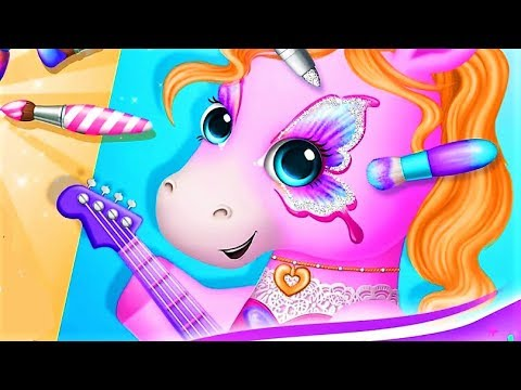 Pony Sisters Pop Band - Play Fun Makeup And Music Games - Kids Gameplay Video