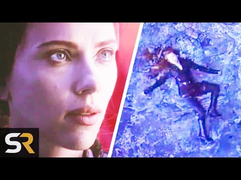 Black Widow Is Alive And Stranded on Vormir Theory