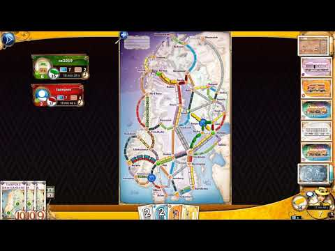 Ticket to ride nordic countries from YouTube · Duration:  32 minutes 26 seconds