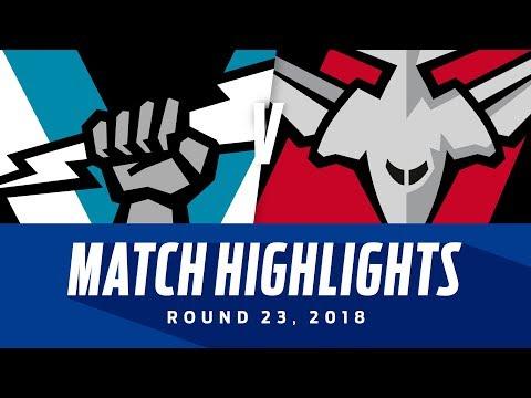 Port Adelaide v Essendon Highlights | Round 23, 2018 | AFL
