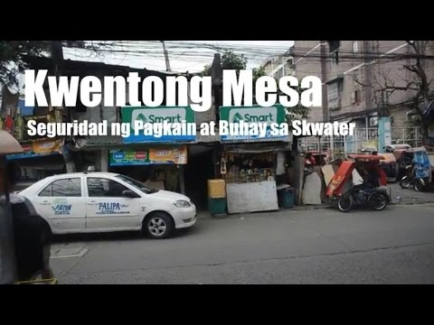 Kwentong Mesa: Seguridad ng Pagkain at Buhay ng Pamilya sa Iskwater