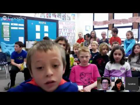Matilda Book Club December Connected Classroom Hangout: Danny, The Champion of the World
