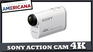 SONY ACTION CAM 4K (FDR-X1000V/W) - Unboxing + Review