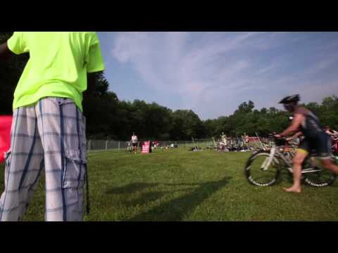 2015 New Jersey State Triathlon held at Mercer County Lake