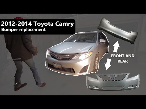 NEW Painted To Match Front Bumper Cover Replacement for 2007-2009 Toyota Camry
