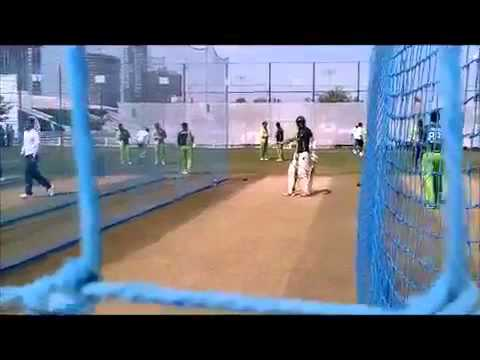 Pakistan Cricket Team Net Practice - 31.01.2012