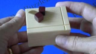 The Karakuri Cheese Cake Japanese Secret Puzzle Box