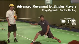 Advanced Tennis Movement for Singles Players: Cignarelli and Uehling at Tennis Congress 2015