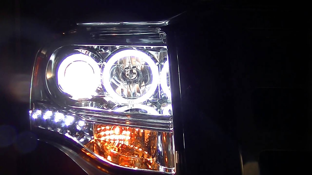 2007 Ford Expedition Anzo Projection Headlights