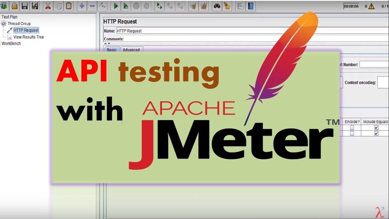 API testing using jmeter