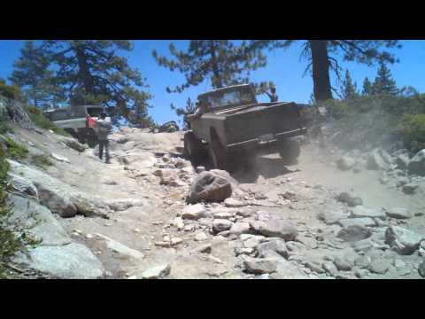 J2000 JEEP CRAWLER on the Rubicon trail