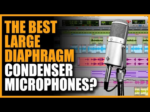 Microphones: Large Diaphragm Condenser Shootout at Vintage King - Warren Huart - Produce Like A Pro