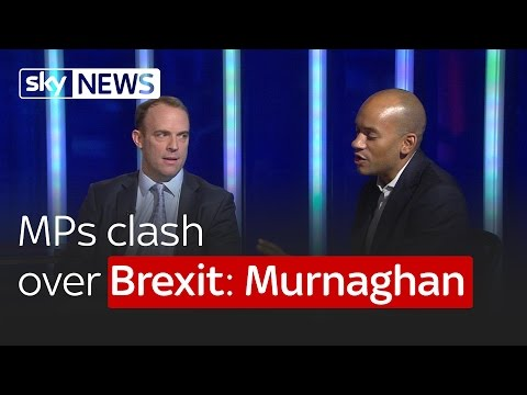Remain MP Chuka Ummuna and Leave MP Dominic Raab clash over Brexit: Murnaghan