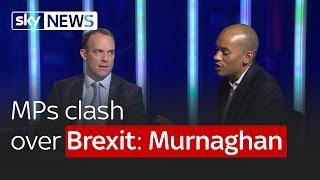 Remain MP Chuka Ummuna and Leave MP Dominic Raab clash over Brexit: Murnaghan