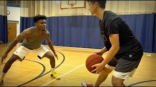 1V1 KING OF THE COURT!! | 2-HYPE VS OFF BALLERS?