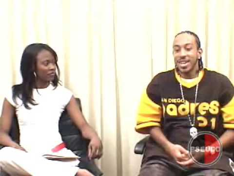 Ludacris Interview Part 1