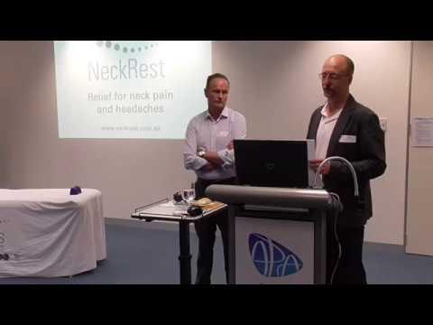 NeckRest launch presentation by Ken Niere and Mark Alexander