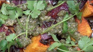 Roasted Pumpkin & Onion Salad - Nicko's Kitchen
