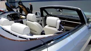 2018 Rolls Royce Phantom Drophead Coupe Design Limited Special First Impression Lookaround Review