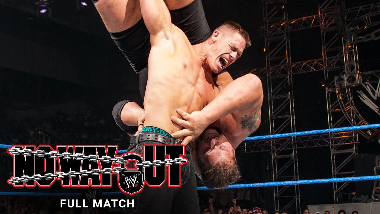 FULL MATCH - John Cena vs. Kurt Angle vs. Big Show – Triple Threat Match: WWE No Way Out 2004 - YouTube