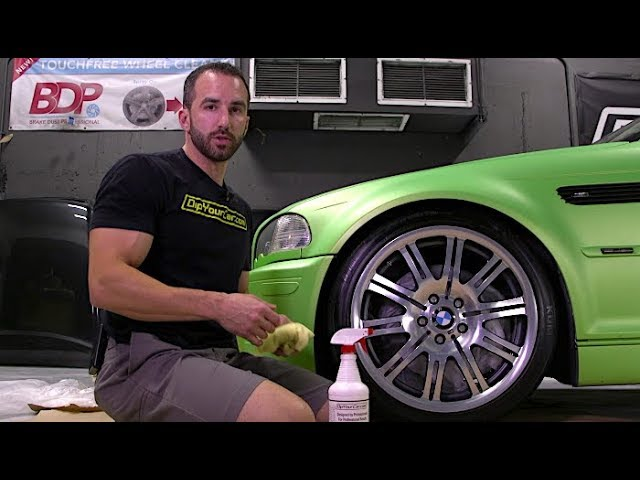 Official Do's and Don'ts of Plasti Dipping Your Wheels