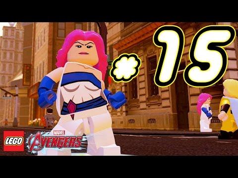 LEGO Marvel's Avengers ITA Avventura Mattoncini #15 - Jewel Jessica Jones - PS4 Xbox One PC