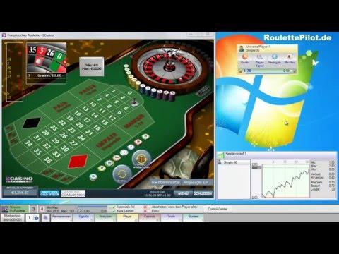 RoulettePilot - Playerbeispiel Simple 06 - Dutzend Nachsetzen/entgegensetzen