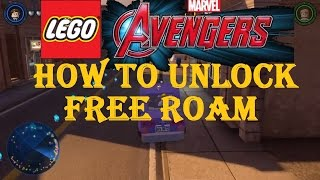 LEGO Marvel Avengers How To Unlock Free Roam To Explore The City Unlocking Manhattan