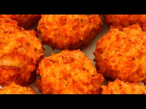 How To Make Deep Fried Cheese Balls - YouTube