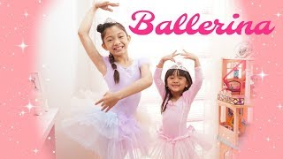 BALLERINA MAKEOVER and Announcement for KIDS CHOICE
