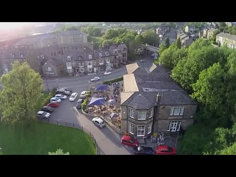 Beautiful Buxton, Peak District, UK (DJI Phantom)