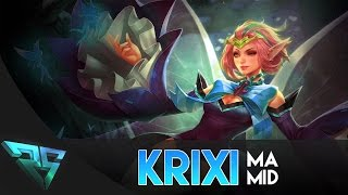 Strike of Kings: CRAZY DAMAGE! Krixi [MA MID] Gameplay